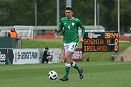 Oisin Mcentee of Republic of Ireland (4) during the UEFA European Under 17 Championship 2018 match between Bosnia and Republic of Ireland at Stadion Bilino Polje, Zenica, Bosnia and Herzegovina on 11 May 2018. Picture by Mick Haynes.