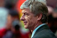 Photo: Alan Crowhurst.<br />Arsenal v Villarreal. UEFA Champions League. Semi-Final, 1st Leg. 19/04/2006. Arsenal coach Arsene Wenger.