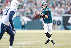 Philadelphia Eagles quarterback Mark Sanchez #3 in the pocket during the NFL game between the Tennessee Titans and the Philadelphia Eagles at Lincoln Financial Field in Philadelphia, Pennsylvania on Sunday November 16th 2014. The Eagles won 43-24. (Brian Garfinkel/Philadelphia Eagles)