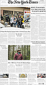 March 23, 2021 (USA): Front-page: Today's Newspapers In United States