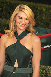 Jan. 25, 2015 - Los Angeles, California, USA - Jan 25, 2015 - Los Angeles, California, USA - Actress CLAIRE DANES  at the 21st Annual SAG Awards - Arrivals held at the Shrine Auditorium, Los Angeles. (Credit Image: © Paul Fenton/ZUMA Wire)