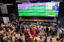 Fans watch Wales vs Slovakia at The Sports Bar and Grill- Mandatory by-line: Robbie Stephenson/JMP - 11/06/2016 - FOOTBALL - Ashton Gate - Bristol, United Kingdom  - England vs Russia - UEFA Euro 2016