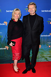 Karen Barber and Christopher Dean attending the premiere of Cirque du Soleil's Totem, in support of the Sentebale charity, held at the Royal Albert Hall, London.