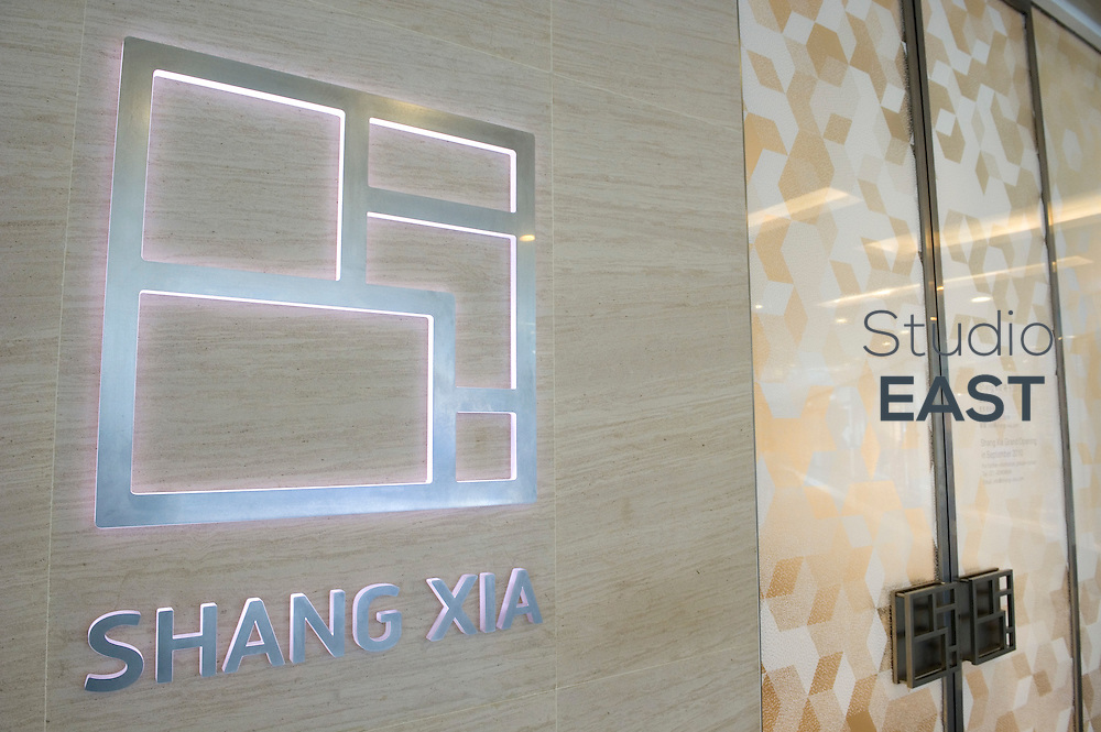 The first store of Shangxia, due to open tomorrow, in Shanghai, China, on September 15, 2010. Shangxia is a Chinese luxury brand launched by Hermes. Shangxia is owned by Hermes and has its own design team. It will make and sell clothes and accessories based on Chinese styles and traditional know-how. If customer reaction proves positive, Hermes plans to open a Shangxia store in Paris next year and gradually roll out worldwide. Photo by Lucas Schifres/Pictobank