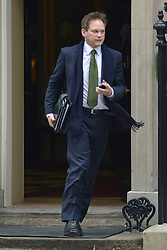 © Licensed to London News Pictures. 26/03/2013. Westminster, UK . Grant Shapps, Co-Chairman of the Conservative Party. Ministers in Downing Street, London, for Cabinet today, 26th March 2013. Photo credit : Stephen Simpson/LNP