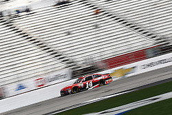 March 3, 2017 - Hampton, Georgia, United States of America - March 03, 2017 - Hampton, Georgia, USA: Clint Bowyer (14) takes to the track to practice for the Folds of Honor QuikTrip 500 at Atlanta Motor Speedway in Hampton, Georgia. (Credit Image: © Justin R. Noe Asp Inc/ASP via ZUMA Wire)