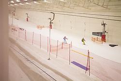 Indoor skiing, Xscape, Wakefield, UK