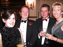 GP Booster Ball <br />Left to Right; <br />Doctors, Paula Jones, Andrew McGinty, Zac McMurray and Hazel McMurray<br /><br />Venue: Royal Victoria Hotel, (holiday inn), Sheffield<br />Date: Saturday 10 November