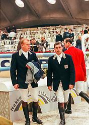 Philippaerts Johan, Philippaerts Ludo, BEL<br /> Jumping Mechelen 1998<br /> © Hippo Foto - Dirk Caremans<br /> 03/12/2020