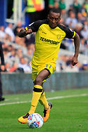 Burton Albion midfielder Lloyd Dyer (11) during the EFL Sky Bet Championship match between Queens Park Rangers and Burton Albion at the Loftus Road Stadium, London, England on 23 September 2017. Photo by Richard Holmes.
