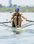 2005, World Rowing Championships, Nagaragawa International Regatta Course, Gifu, JAPAN: Monday  29.08.2005. UKR M1X Kostian Zaitsev.  © Peter Spurrier/Intersport Images - email images@intersport-images.com