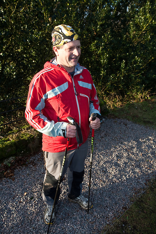 Richard Maddon, during Training with AdidasTERREX on the Wenger Patagonia Expedition Race media day. 11/01/2011.Copyrighted work - Permission must be sought before use of this image..Alex Ekins +44 (0)7901 882994.