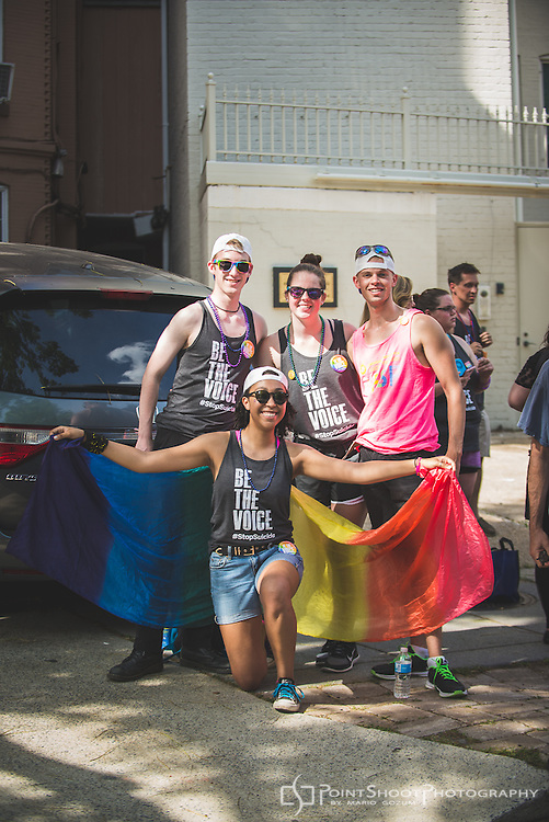 American Foundation for Suicide Prevention (AFSP) National Capital Area - DC Pride Parade, 6/11/2016.
