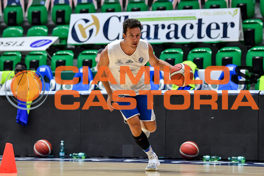 Giacomo Devecchi<br /> Allenamento Banco di Sardegna Dinamo Sassari<br /> LBA Legabasket Serie A 2021-2022<br /> Sassari, 12/08/2021<br /> Foto L.Canu / Ciamillo-Castoria