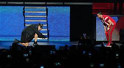 May 25, 2019 - San Juan, San Juan, Puerto Rico - 25 de Mayo del 2019 Coliseo de PR Concierto del  cantante rey de Corazones Manny Manuel  y  Elvis Crespo david.villafane@gfrmedia (Credit Image: © David Villafane/El Nuevo Dias via ZUMA Press)
