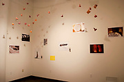 Installation View for Where's My Happy Ending? Imaging Now, Memphis College of Art, Memphis, TN  2015