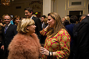 Helene Darroze; ANGELA HARTNETT, Tatler Restaurant Awards. Mandarin Oriental Hyde Park. Knightsbridge. London. 19 January 2009 *** Local Caption *** -DO NOT ARCHIVE-© Copyright Photograph by Dafydd Jones. 248 Clapham Rd. London SW9 0PZ. Tel 0207 820 0771. www.dafjones.com.<br /> Helene Darroze; ANGELA HARTNETT, Tatler Restaurant Awards. Mandarin Oriental Hyde Park. Knightsbridge. London. 19 January 2009