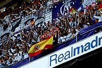 """Spanish  League""- match Real Madrid Vs FC Barcelona- season 2014-15 - Santiago Bernabeu Stadium - Real Madrid fans during the Spanish League match against FC Barcelona(Photo: Guillermo Martinez / Bohza Press / Alter Photos)"