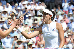 July 3, 2018 - Angleterre - Wimbledon - Garbine Muguruza Espagne (Credit Image: © Panoramic via ZUMA Press)