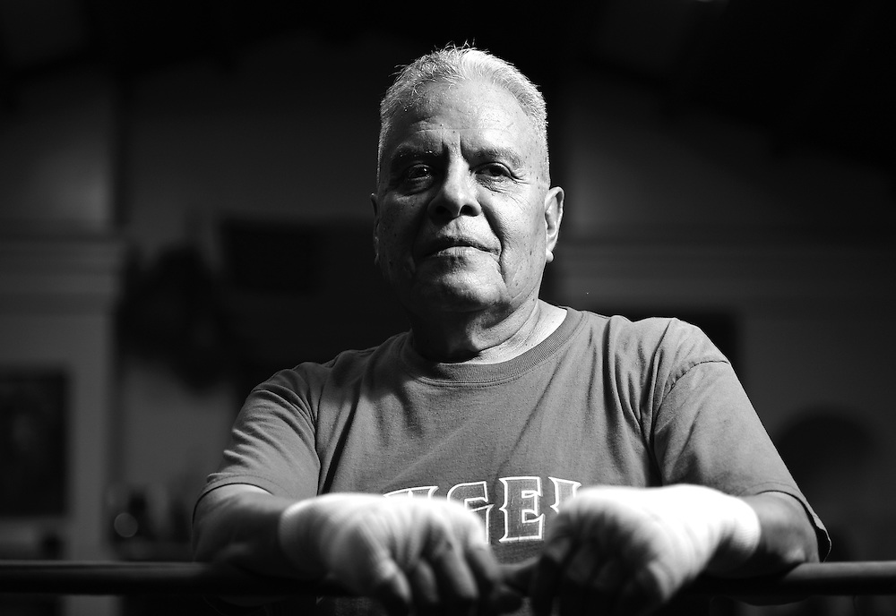November 06, 2014: A La Habra Boxing Club Patriarch poses for a portrait during Sports Shooter Academy XI.
