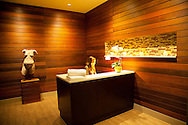 Women's check-in at the Spa at the Allison Inn in Newberg, Oregon, in the heart of Oregon Wine Country.