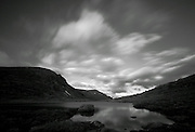Long exposure over the Cairngorms, Scotland, in April