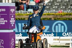 Siulver medal, Individual Grade III, Van der Horst Rixt, NED,<br /> European Championship Para Dressage<br /> Rotterdam 2019<br /> © Hippo Foto - Dirk Caremans