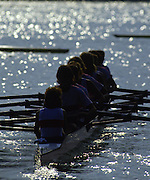 Banyoles, SPAIN, German Women's Eight, GER W8+ Bronze Medalist. crew: Sylvia DOERDELMANN: Kathrin Christiane HARZENDORF: Cerstin PETERSMANN , Dana PYRITZ : Ute SCHELL - STANGE: Annegret STRAUCH: Judith UNGEMACH - ZEIDLER:  cox, Daniela NEUNAST.  1992 Olympic Regatta, Lake Banyoles, Barcelona, SPAIN.    [Mandatory Credit: Peter Spurrier: Intersport Images]