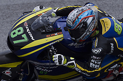 November 3, 2018 - Sepang, Malaysia - Tech 3 Racing Moto2 rider Remy Gardner of Malaysia powers his bike during free practice 3 session of Malaysian Motorcycle Grand Prix at Sepang International Circuit in Sepang, November 3, 2018. (Credit Image: © Zahim Mohd/NurPhoto via ZUMA Press)
