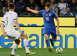 "March 23, 2019 - Udine, Italia - Foto LaPresse/Andrea Bressanutti.23/03/2019 Udine (Italia).Sport Calcio.Italia vs. Finlandia - European Qualifiers - Stadio ""Dacia Arena"".Nella foto: barella..Photo LaPresse/Andrea Bressanutti.March  23, 2019 Udine (Italy).Sport Soccer.Italy vs Finland - European Qualifiers  - ""Dacia Arena"" Stadium .In the pic: barella (Credit Image: © Andrea Bressanutti/Lapresse via ZUMA Press)"