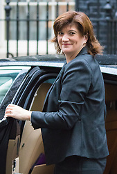 Downing Street, London, September 15th 2015.  Education Secretary Nicky Morgan arrives at 10 Downing Street to attend the weekly cabinet meeting