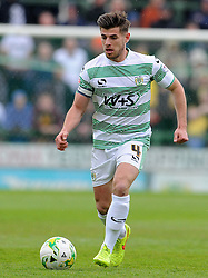 Yeovil Town's Joe Edwards - Photo mandatory by-line: Harry Trump/JMP - Mobile: 07966 386802 - 25/04/15 - SPORT - FOOTBALL - Sky Bet League One - Yeovil Town v Port Vale - Huish Park, Yeovil, England.