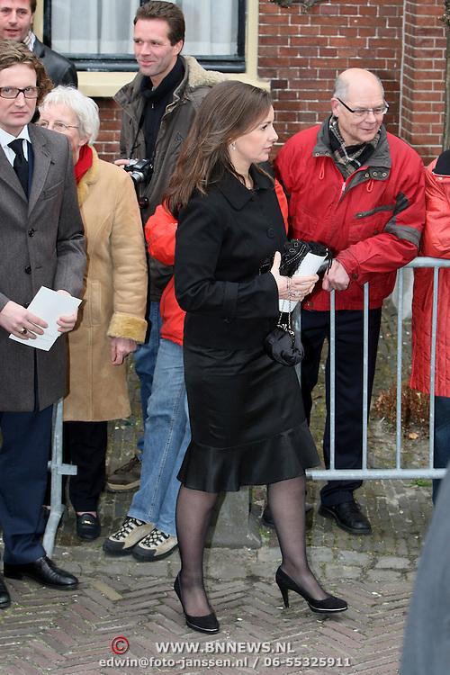 NLD/Wassenaar/20080403 - Herdenkingsdienst Erik Hazelhoff Roelfzema, prinses Anita
