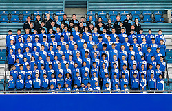 Britol Rovers Academy players pose for a group photo during the 2015/16 season - Mandatory byline: Rogan Thomson/JMP - 07/04/2016 - FOOTBALL - Memorial Stadium - Bristol, England - Bristol Rovers Academy Team Photos.