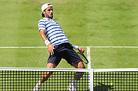 Tennis - 2017 Aegon Championships [Queen's Club Championship] - Day Two, Monday<br /> <br /> Men's Singles, Round of 32<br /> Feliciano Lopez [Spain] vs. Stan Wawrinka [Sui]<br /> <br />  Feliciano Lopez on Centre Court <br /> <br /> COLORSPORT/ANDREW COWIE