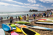 "Rainbow Sandals Gerry Lopez ""Battle Of The Paddle"" Doheny State Beach, Dana Point California"
