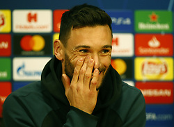 May 7, 2019 - Amsterdam, Holland, Netherlands - Tottenham Hotspur's Hugo Lloris during Press Conference ahead of the UEFA Championship League Semi- Final 2nd Leg between Ajax and Tottenham Hotspur at Johan Cruyff Arena Stadium , Amsterdam, Netherlandson 07 May 2019. (Credit Image: © Action Foto Sport/NurPhoto via ZUMA Press)