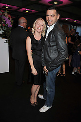 ROLAND MOURET and the editor of Elle magazine LORRAINE CANDY at the opening of 'The House of Viktor & Rolf' an exhibtion of designs by Viktor & Rolf held at The Barbican Art Gallery, Silk Sytreet, London on 17th June 2008.<br /><br />NON EXCLUSIVE - WORLD RIGHTS