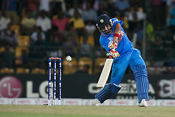 © Licensed to London News Pictures. 23/09/2012. Indian batsman Rohit Sharma batting during the T20 Cricket World T20 match between England Vs India at the R.Premadasa Cricket Stadium,Colombo. Photo credit : Asanka Brendon Ratnayake/LNP