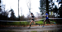 27-11-2011 ATLETIEK: NK CROSS 53e WARANDELOOP: TILBURG<br /> Adrienne Herzog en Simret Restle GER<br /> ©2011-FotoHoogendoorn.nl