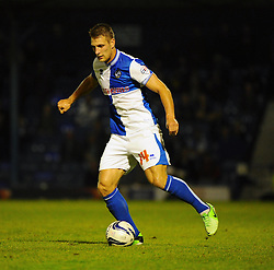 Bristol Rovers' Lee Brown - Photo mandatory by-line: Seb Daly/JMP - Tel: Mobile: 07966 386802 27/09/2013 - SPORT - FOOTBALL - Roots Hall - Southend - Southend United V Bristol Rovers - Sky Bet League Two