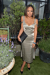 SARAH-JANE CRAWFORD at the Warner Music Group & GQ Summer Drinks hosted in asociation with Quintessentially at Shoreditch House, Ebor Street, London on 6th July 2016.