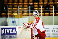 Ishockey , 16. Januar 2014, GET-Liga ,<br /> Lørenskog Ishockey - Stjernen<br /> Henrik Haugeland reagerer på 4-0<br /> Foto: Sjur Stølen , Digitalsport