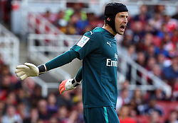 July 30, 2017 - London, England, United Kingdom - Arsenal's Petr Cech..during Emirates Cup match between Arsenal  against Savilla FC   at The Emirates Stadium in north London on July 30, 2017, the game is one of four matches played over two days for the Emirates Cup. (Credit Image: © Kieran Galvin/NurPhoto via ZUMA Press)