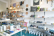Trendy interior design store, The Nook on 18th November 2015 in London, United Kingdom.