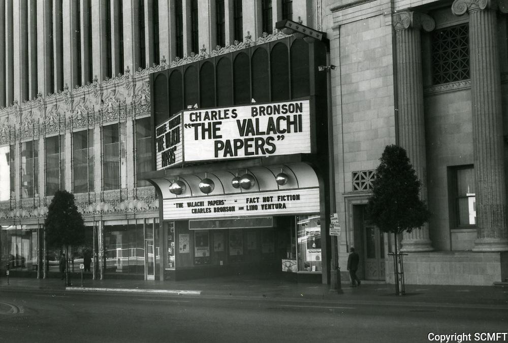 1972 Paramount Theater on Hollywood Blvd.