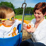5/23/09 --Photo of Holly Billings and her son Noah by Roger S. Duncan. .Permission for all print and web usage purposes granted to Holly Billings..Copyright 2009. .