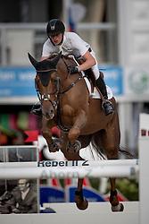 Clemens Pieter, (BEL), Horizon de Regor<br /> Belgisch Kampioenschap Jumping - Lanaken 2016