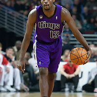 21 December 2009: Sacramento Kings guard Tyreke Evans brings the ball upcourt during the Sacramento Kings 102-98 victory over the Chicago Bulls at the United Center, in Chicago, Illinois, USA.