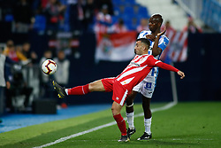 March 16, 2019 - Leganes, MADRID, SPAIN - Juanpe of Girona during the spanish championship, La Liga, football match played between CD Leganes and Girona FC at Butarque Stadium in Leganes, Madrid, Spain, on March 16, 2019. (Credit Image: © AFP7 via ZUMA Wire)